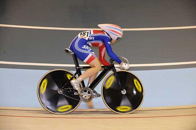 Victoria Pendleton sprint qualifying 2010 world track championships Copenhagen.jpg