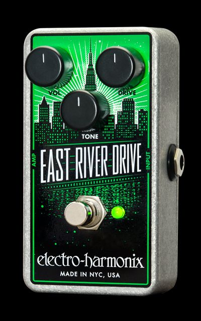 Electro-Harmonix Introduces East River Drive Pedal: JRC4558-Based Overdrive