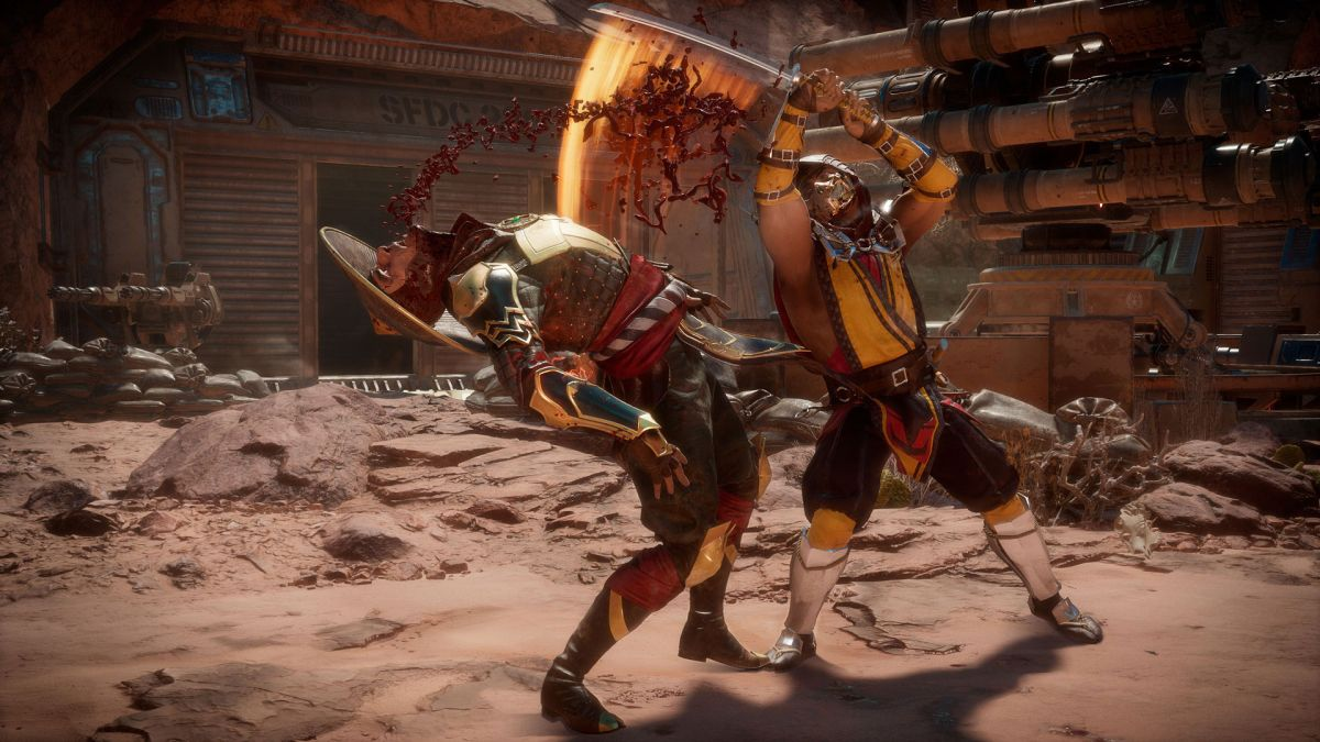 This Mortal Kombat 11 Mod Lets You Control The Camera And Explore The Game Like Never Before Pc Gamer