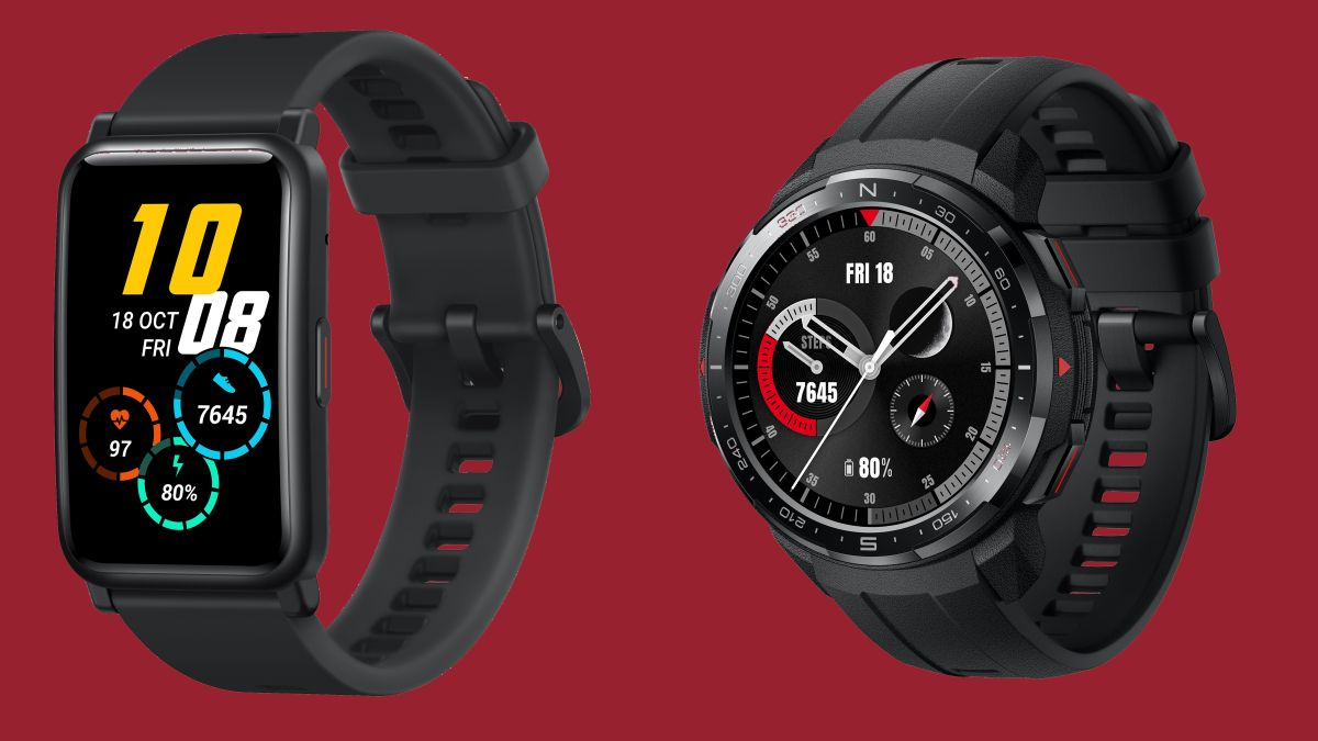 Honor has two new smartwatches, and one is very similar to the Huawei Watch  Fit | TechRadar