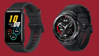 Honor Watch ES (L) and Honor Watch GS Pro (R)