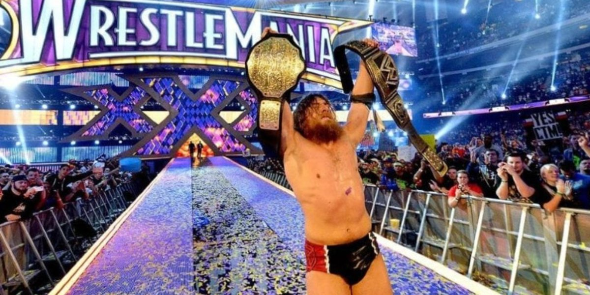 Daniel Bryan at WrestleMania 30