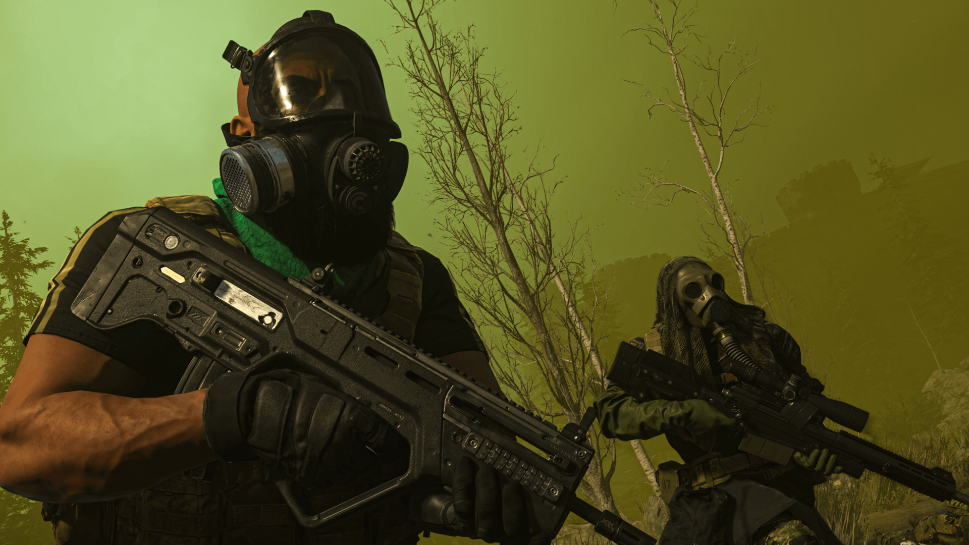 The gas mask is Call of Duty: Warzone's greatest source of self-inflicted pain