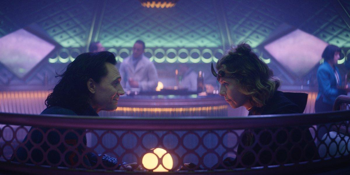 Sylvie and Loki in Loki