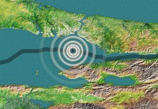Turkey earthquake fault