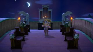 Animal Crossing: New Horizons Resident Evil 8 altar
