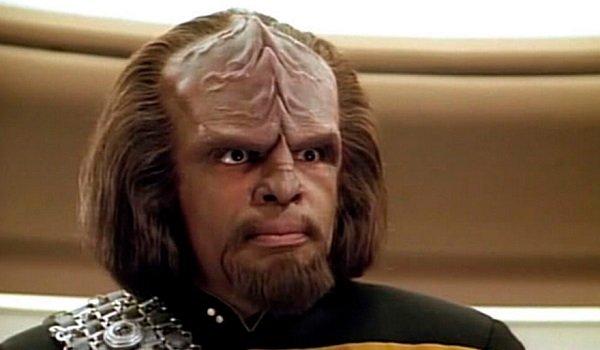 Worf Michael Dorn Star Trek: The Next Generation CBS