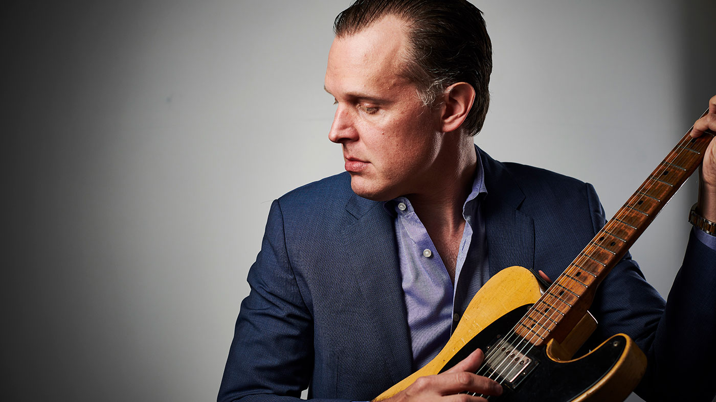 """Joe Bonamassa: """"I have a fire drill that I practise. And I'm not joking. I can haul eight guitars outta Nerdville on my own in a hurry"""" 