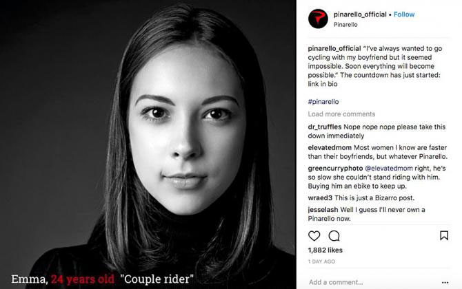 Pinarello pulls sexist advert after uproar | Cyclingnews