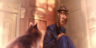 Joe and the cat in Soul