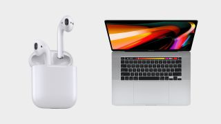 AirPods and MacBook Pro