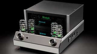 McIntosh unveils C8 Vacuum Tube Preamp and MC830 Solid State Amplifier