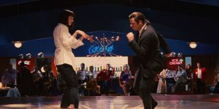 Uma Thurman and John Travolta in Pulp Fiction
