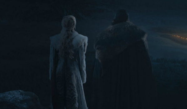 Game of Thrones Daenerys Targaryen Emilia Clarke Jon Snow Kit Harington HBO