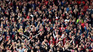 Liverpool fans safe standing