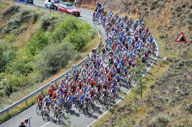 Peloton, Vuelta a Espana 2010, stage 13