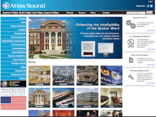 Atlas Sound Launches Updated Website