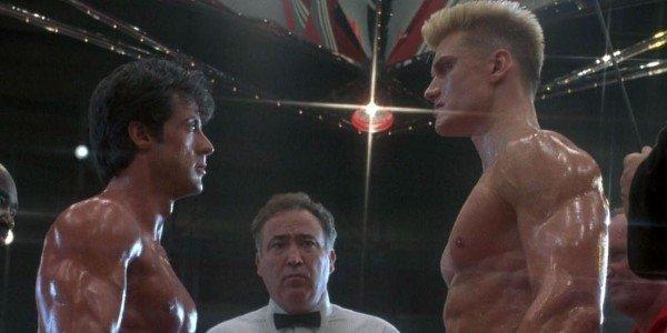Sylvester Stallone, Dolph Lundgren - Rocky IV