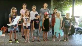 Swiss kids choir