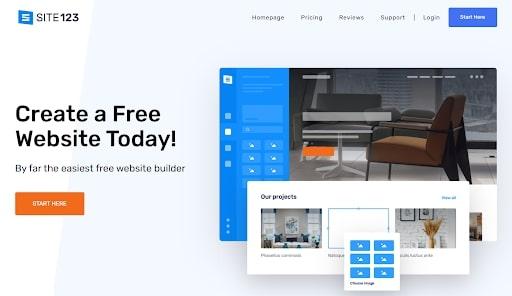 constructeur de site Web simple