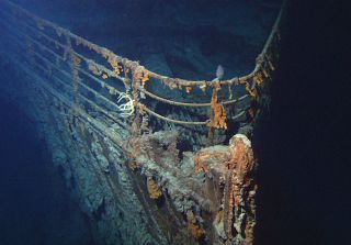 Titanic wreck off southern Newfoundland