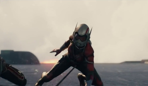 Wasp flashback Ant-Man