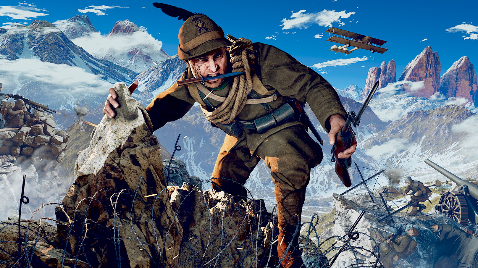 Verdun studios reveal a new First World War shooter set in the Alps