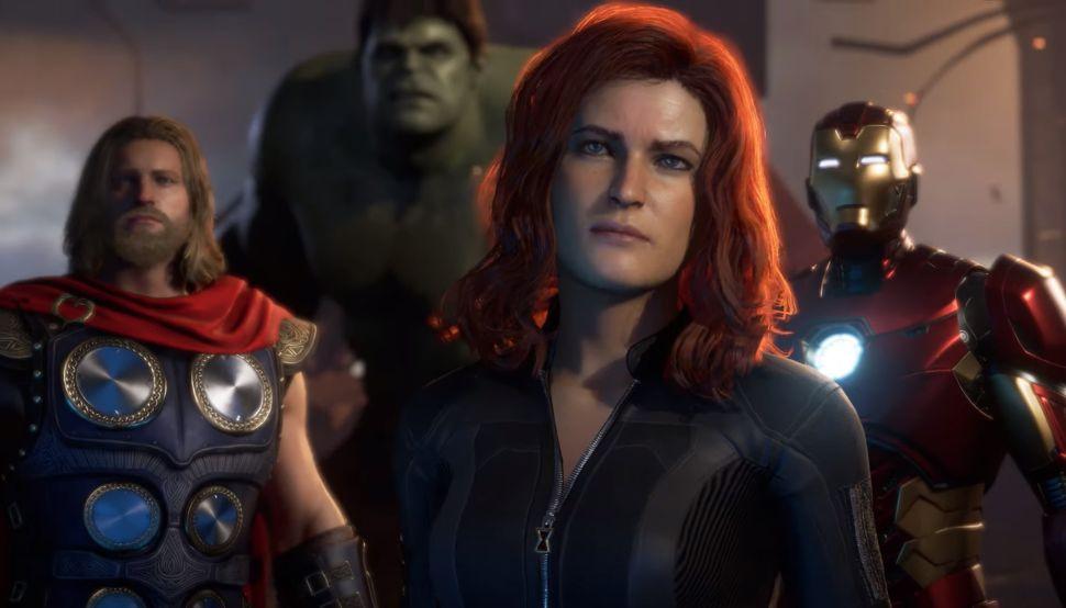 e3 2019, marvel's avengers