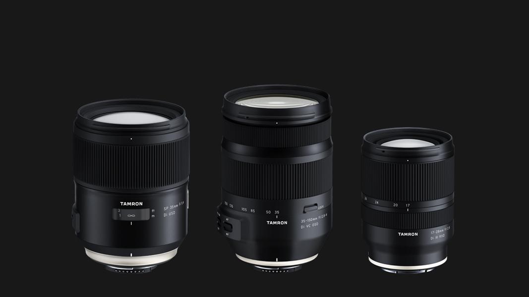 Tamron announces trio of full-frame lenses for Canon, Nikon and Sony
