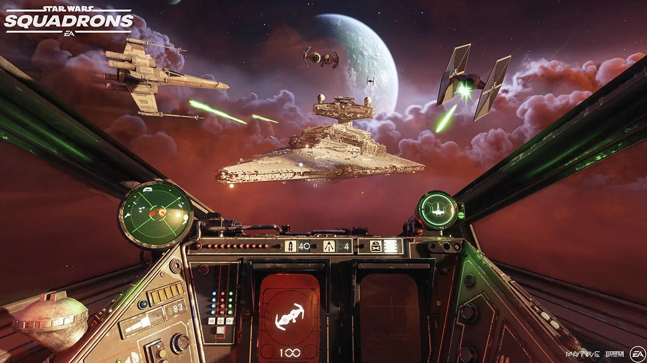 Star Wars Squadrons Force Blasted To 17 Space
