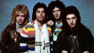 Queen: Roger Taylor, Freddie Mercury, Brian May and John Deacon