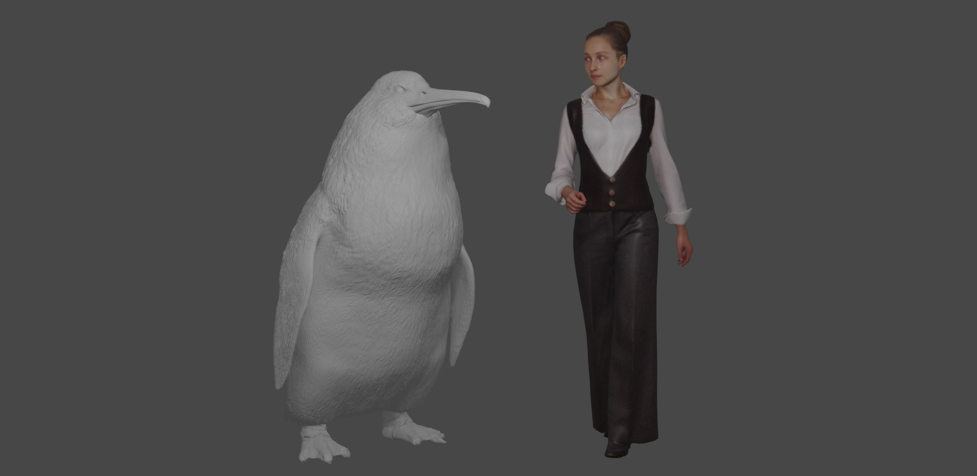 Newly Discovered Monster Penguin Was As Tall As An Adult Human