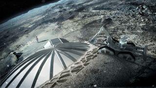 Lunar Base Foster Partners