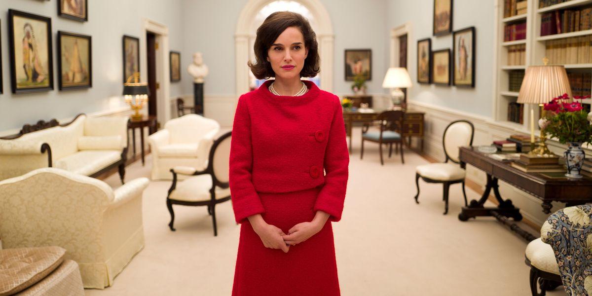 Natalie Portman in Jackie.