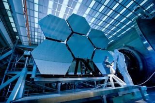 New Space Telescope Mirrors Get Frosty Treatment