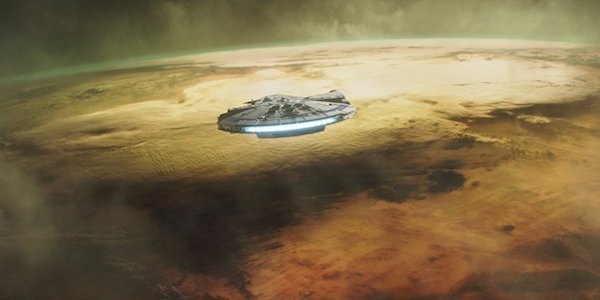 The Millennium Falcon in Solo: A Star Wars Story