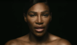 Topless Serena Williams Is Promoting Breast Cancer Awareness