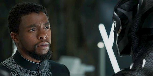 Black Panther Chadwick Boseman T'Challa
