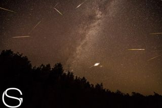2013 Perseid Meteors Over Lime Lake, MI