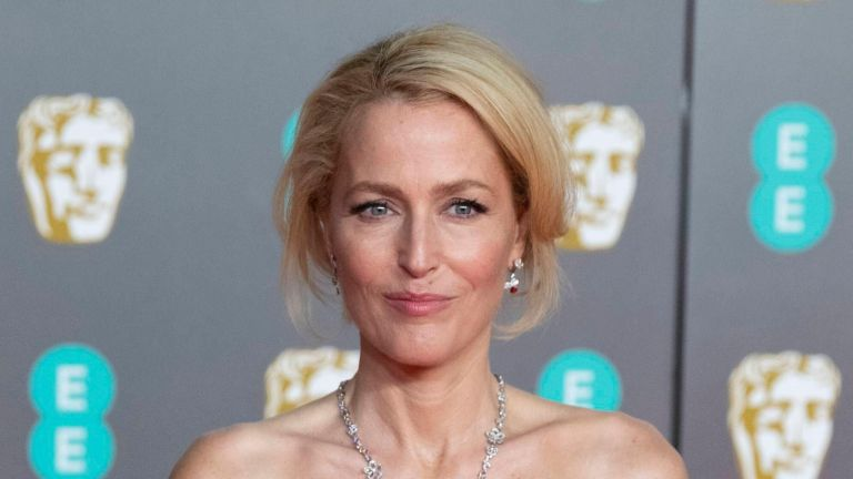 Gillian Anderson's bald transformation for Eleanor Roosevelt role sends fans into a frenzy