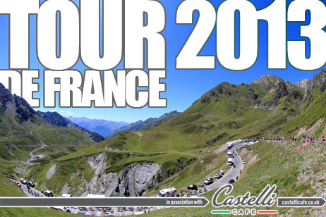 Tour de France 2013 in association with Castelli Cafe