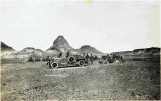 Tooth Hill Camp, lawrence of arabia