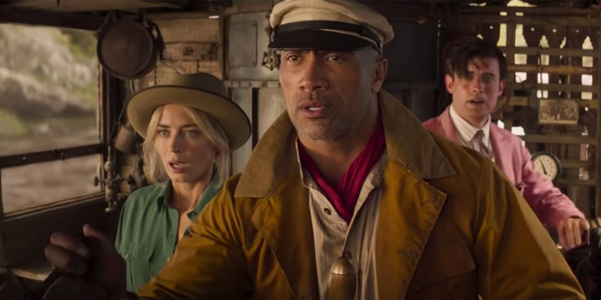 The Rock and Emily Blunt in Jungle Cruise now in 2021
