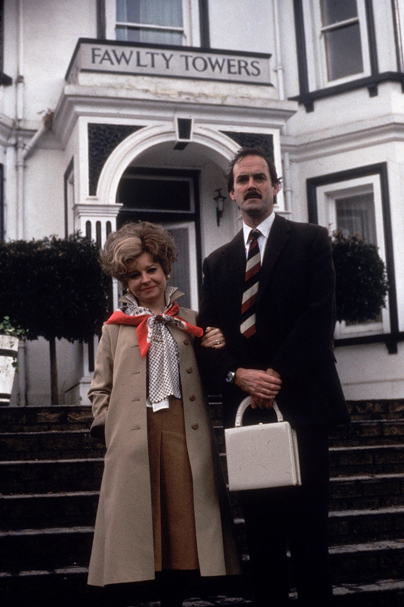 Fawlty Towers tops TV comedy list