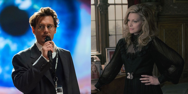 Johnny Depp Michelle Pfeiffer