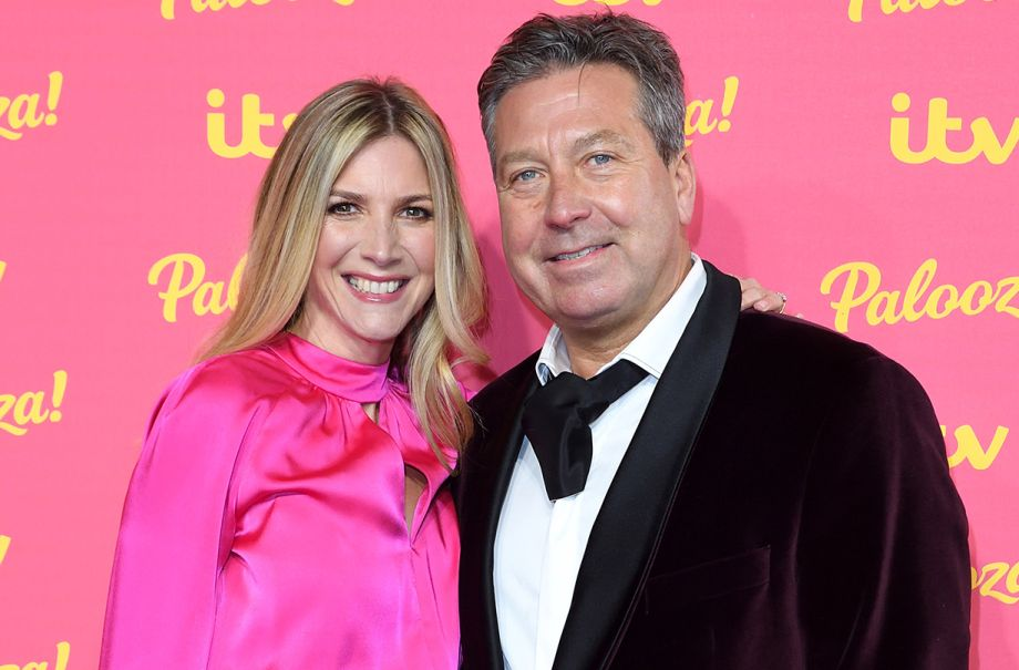 Lisa Faulkner honeymoon photo John Torode