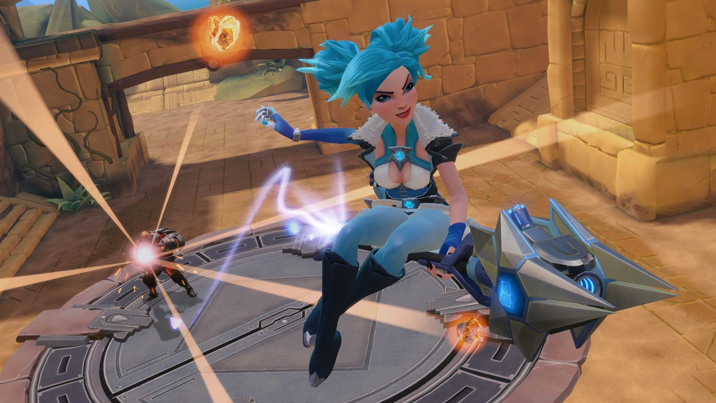 Win access to Buck in the new Hi-Rez team shooter, Paladins