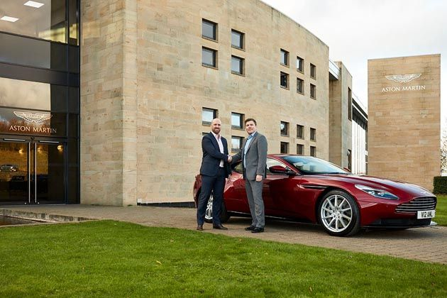 one pro cycling team partner with aston martin for 2018 - cycling weekly