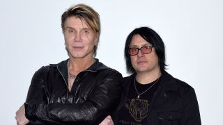 Johnny Rzeznik and Robby Takac of the Goo Goo Dolls