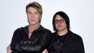 Johnny Rzeznik and Robby Takac of the Goo Goo Dolls